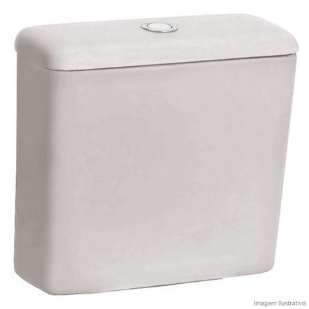 Caixa Acoplada para Bacia 3/6 Litros Ecoflush Azaléa Cinza Celite