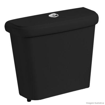 Caixa Acoplada para Bacia 3/6 Litros Ecoflush Fit Preta Celite