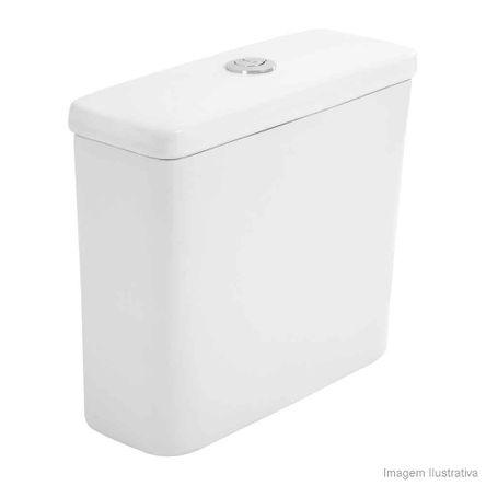 Caixa Acoplada para Bacia 3/6 Litros Ecoflush Life Branca Celite