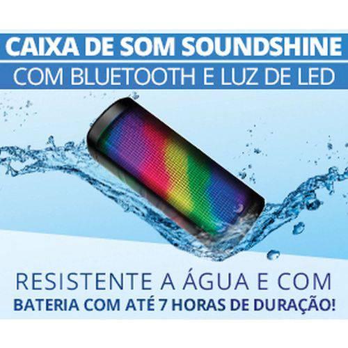 Caixa Acustica Mini Portatil C/bluetooth/led Md Tecnologia Unidade