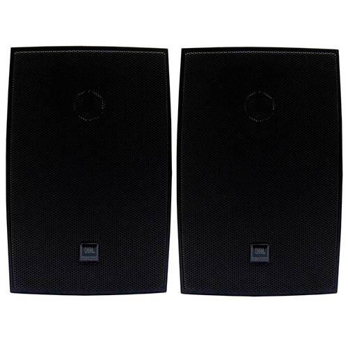 Caixa Acústica Passiva 30W C321P JBL Preta com Suporte - Par