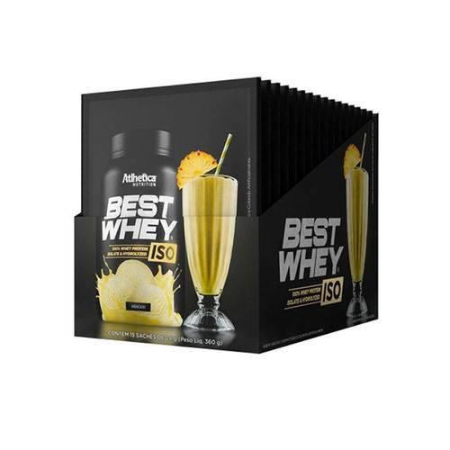 Caixa Best Whey Iso 15 Sachês de 24g