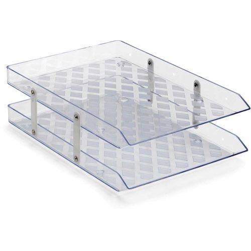 Caixa Correspondencia Dupla Fixa Cristal