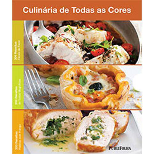 Caixa Culinaria de Todas as Cores - 200 Receitas Faceis, Tortas e Frango