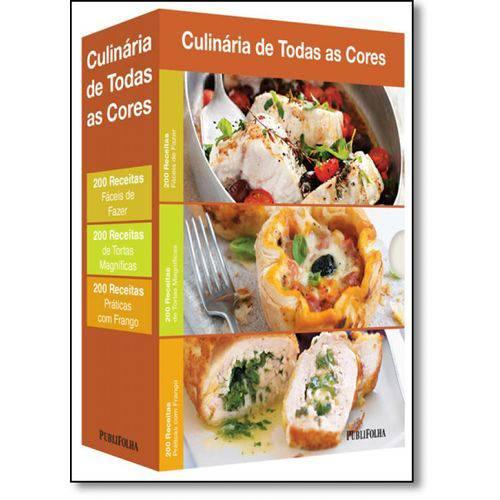 Caixa Culinária de Todas as Cores: Fáceis, Tortas, Frango