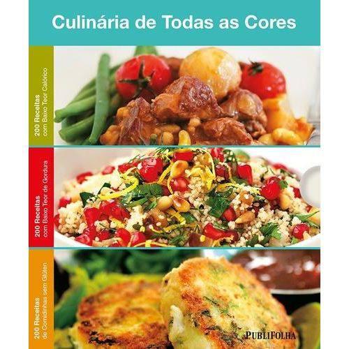 Caixa: Culinária de Todas as Cores