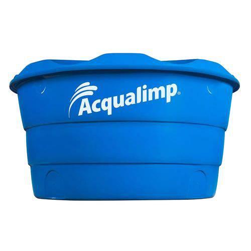 Caixa de Água Dupla Proteção 310L Polietileno Acqualimp
