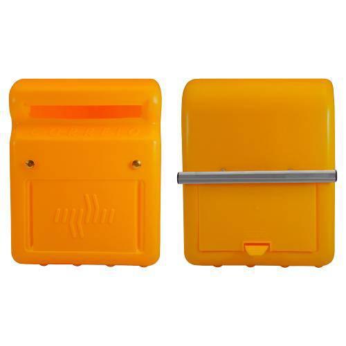 Caixa de Correio Amarela com Fixação na Grade Astra Cxc1