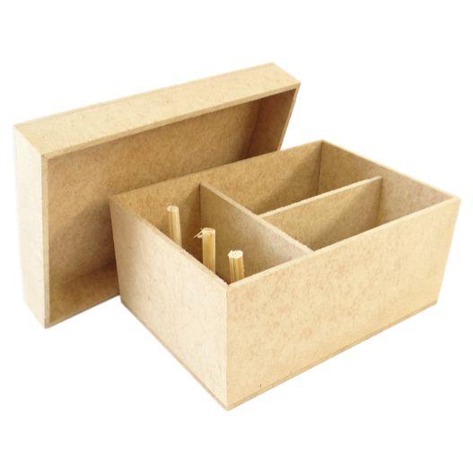 Caixa de Costura Simples Pequena 15x11 Cm