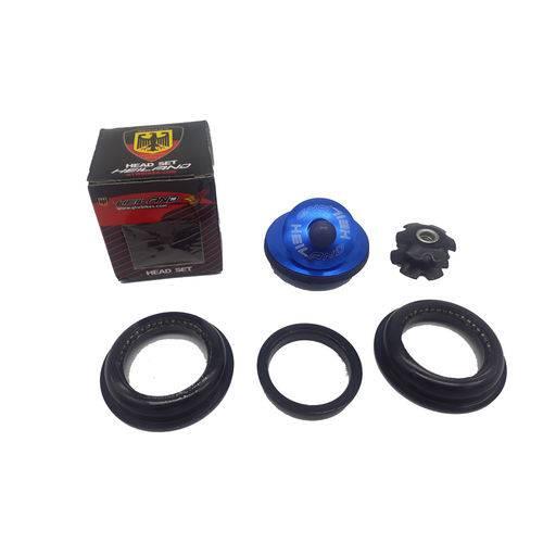 Caixa de Direção Semi Integrado 44mm Heiland Azul