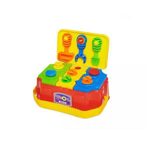 Caixa de Ferramentas Tool Kids Calesita Vira Maleta