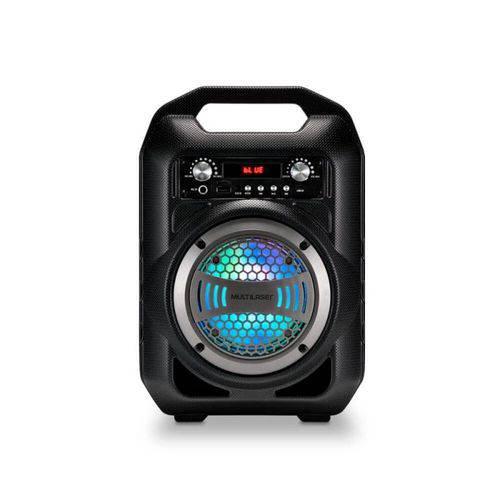 Caixa de Som 6 em 1 Bluetooth 50w Karaokê Rádio Multilaser