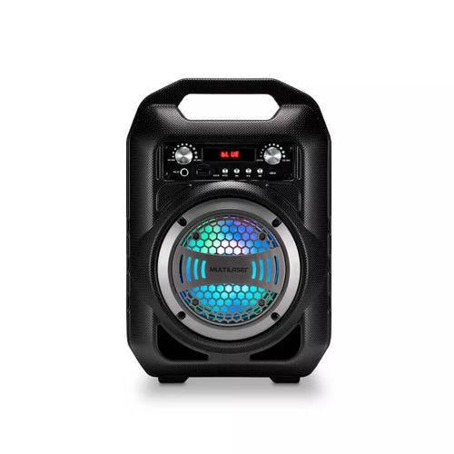 Caixa de Som 6 em 1 Bluetooth 50w Rms Karaokê Rádio Fm Multi
