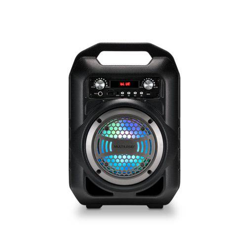 Caixa de Som 6 em 1 Bluetooth 50w RMS Karaokê Rádio FM Multilaser - SP255