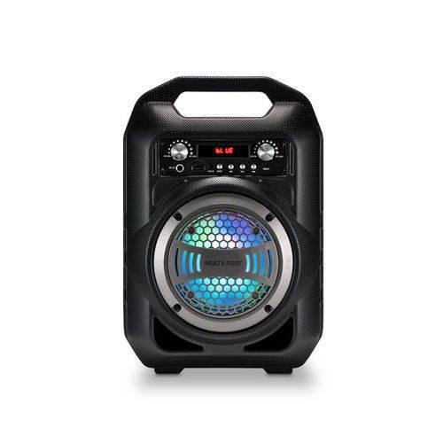 Caixa de Som Amplificada 50 Wrms Bluetooth Fm,sd,p2,usb e Microfone Multilaser Sp255