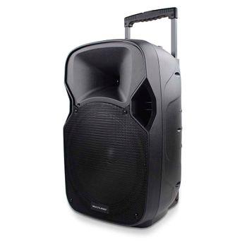 Caixa de Som Amplifica 150w Rms Trolley Multilaser Sp200