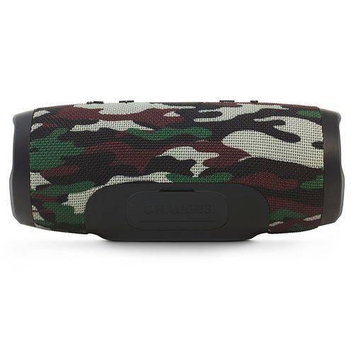 Caixa de Som Bluetooth Jbl Charge 3 Squad Camuflada