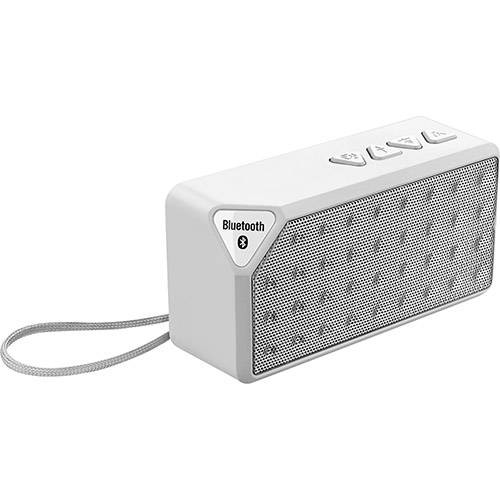 Caixa de Som Bluetooth Multilaser Rms Hands Free Branco 8w Micro SD AUX