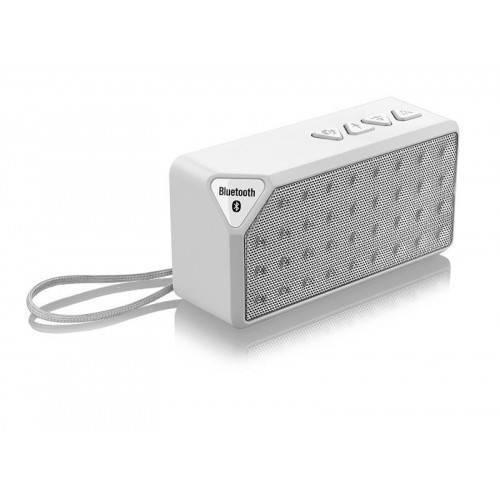 Caixa de Som Multilaser Bluetooth 10W Micro SD Branco SP176