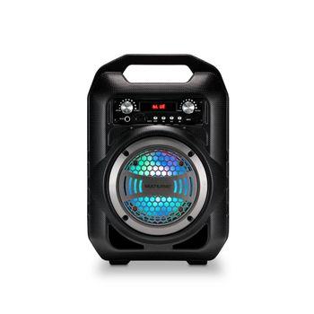 Caixa de Som Multilaser Portátil 4 Polegadas Bluetooth/Fm/Sd/P2/Usb Preta - SP256 SP256