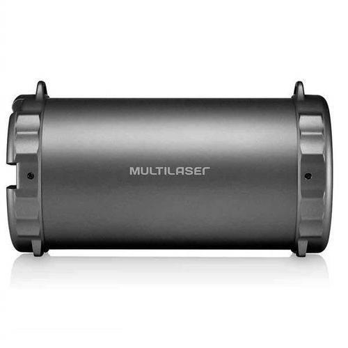 Caixa de Som Multilaser Sp233 Bazooka Bluetooth Fm Sd Usb P2 20w Preto