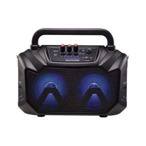 Caixa de Som Multiuso Multilaser SP289 80W RMS 6 em 1 USB/SD/FM/Bluetooth