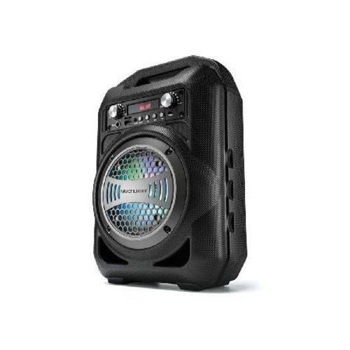 """Caixa de Som Portátil 4"""" Bluetooth/fm/sd/p2/usb Preta Sp256"""