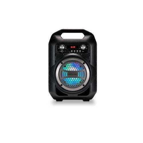 Caixa de Som Portátil 50w Multilaser Sp255 5 Bluetooth Preta