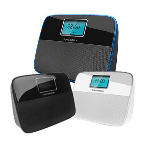 Caixa de Som Portátil com Bluetooth Roadstar Time Branco