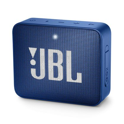 Caixa de Som Portátil JBL Go 2 Azul Bluetooth