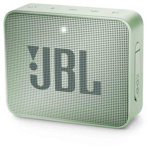 Caixa de Som Portátil JBL GO 2 com Bluetooth 3W à Prova D'água Verde