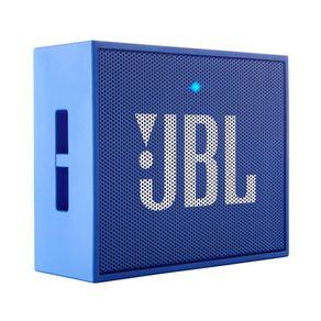 Caixa de Som Portátil JBL GO com Bluetooth 3W Azul