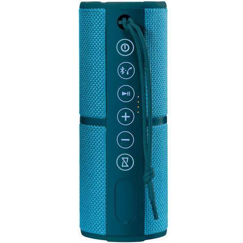 Caixa de Som Portátil Pulse Waterproof SP253 - 15W RMS, Bluetooth, Azul