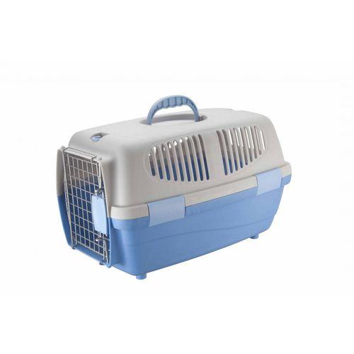 Caixa de Transporte Chalesco Gulliver 1 Cinza e Azul Claro