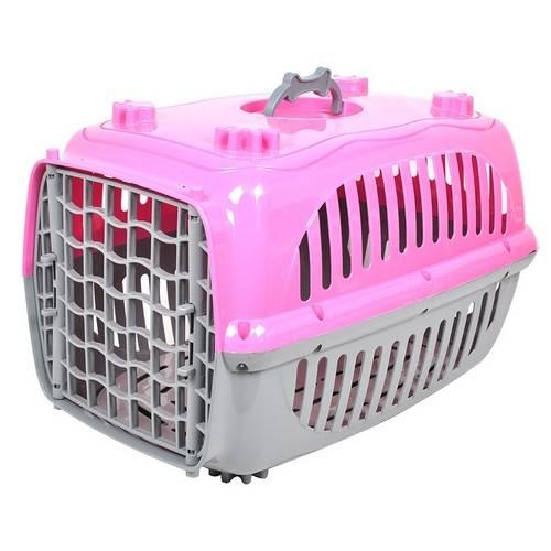 Caixa Transporte para Cães e Gatos com Tapete Removível Número 1