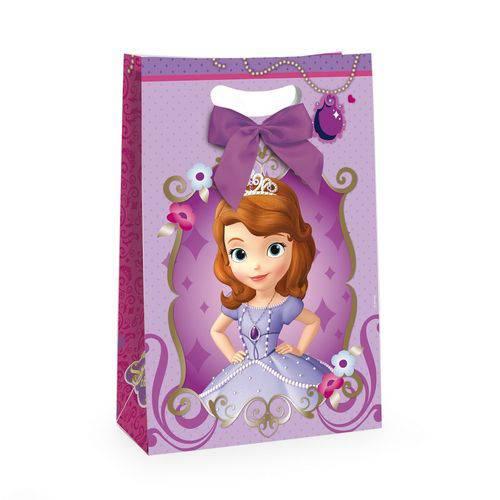 Caixa Flex C/fita P/presente Princesinha Sofia Disney C/10