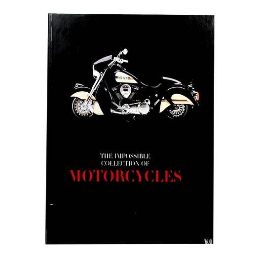 Caixa Livro Collection Of Motorcycles 138004 36x27x5cm Goods Br