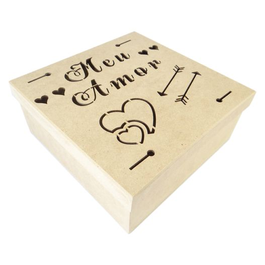 Caixa Meu Amor 25x25 Cm