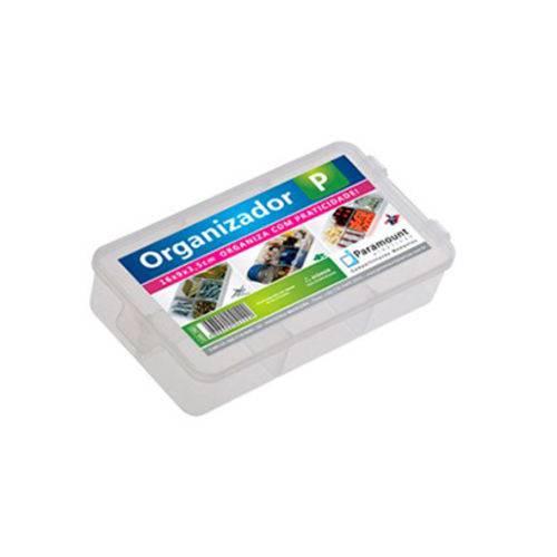 Caixa Organizador Plastico com 5 Divisórias 16 X 9 X 3.5 Cm