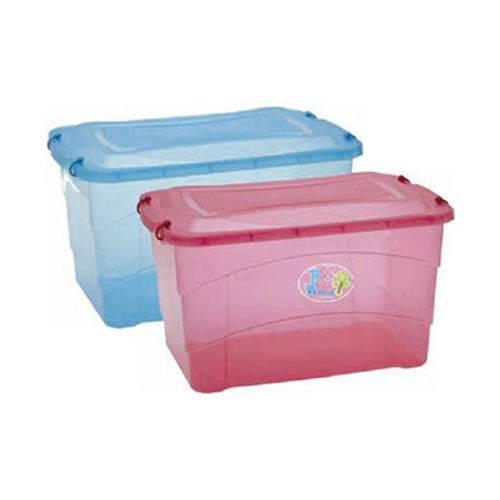 Caixa Organizadora Translucida Infantil 50l