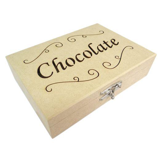 Caixa para Chocolate em MDF