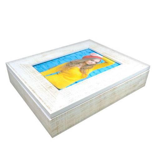 Caixa Porta Objeto Lisa para Foto 15x21 Cm