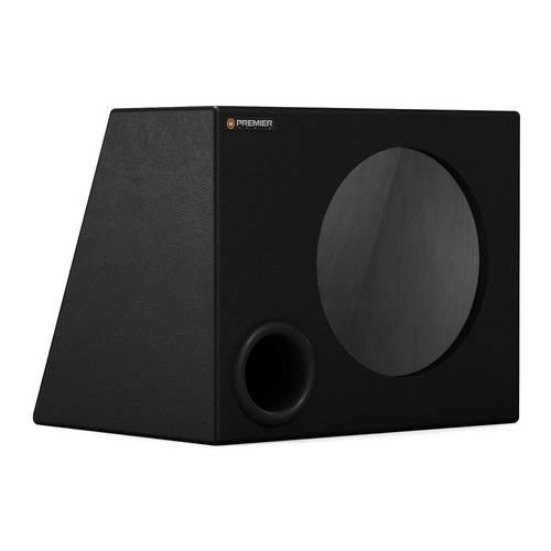 Caixa Premier Audio Dutada Trapezoidal para 1 Alto-Falante de 10
