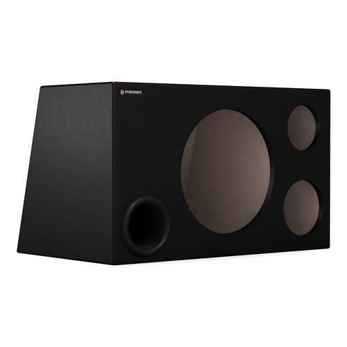 Caixa Premier Audio Dutada Trio Duo Super Bass para 1 Alto-Falante de 12, 1 Corneta e 1 St