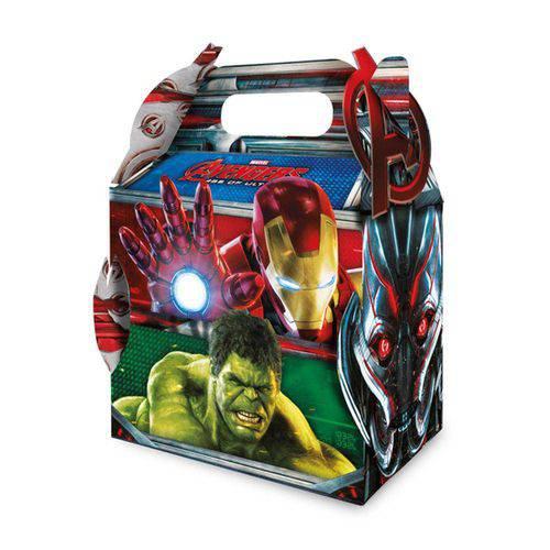Caixa Surpresa Maleta Avengers 2 C/08 Unidades