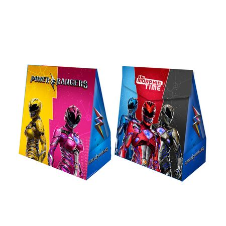 Caixa Surpresa Power Rangers - 08 Unidades