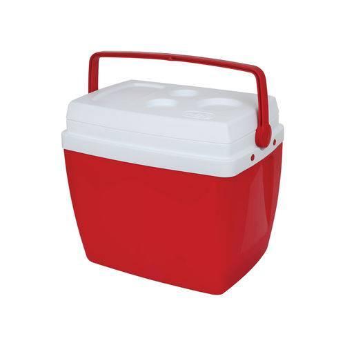 Caixa Térmica 34l Vermelha Mor