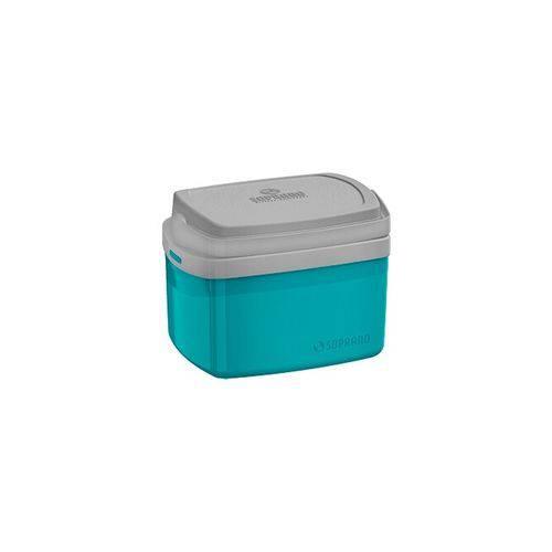 Caixa Térmica 5 L Azul Tropical Soprano - TEK 003