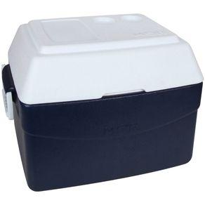 Caixa Térmica 55L Glacial Azul Mor