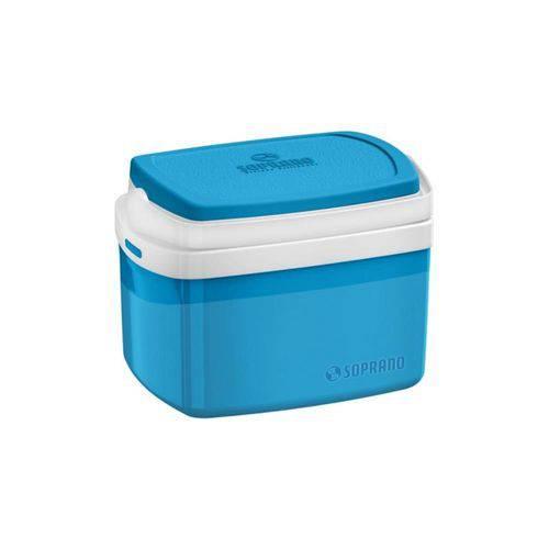 Caixa Térmica 5L Azul Tropical Soprano
